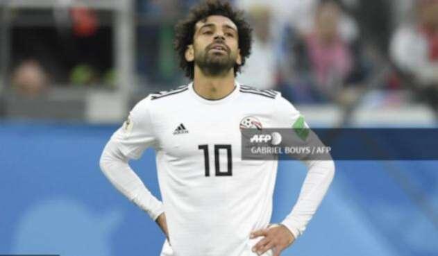 Mohamed Salah, delantero de Egipto