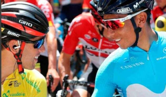 Nairo Quintana en Tour de Suiza
