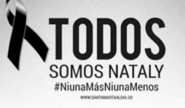 Imagen publicada por la Secretaría de Educación de Santa Marta tras el asesinato de la niña Nataly Pérez Velásquez