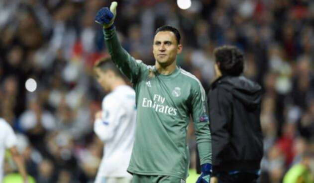 Keylor Navas , arquero del Real Madrid