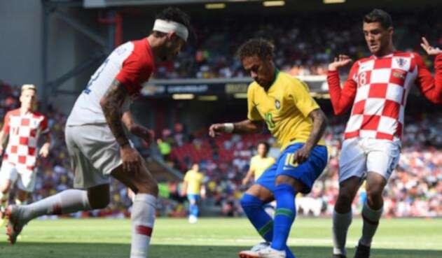 Neymar ante Croacia