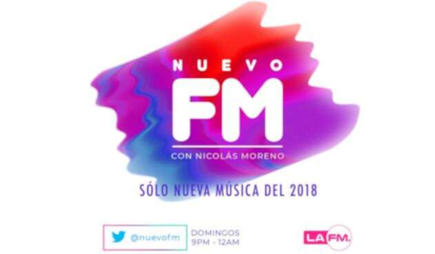 #NuevoFm – Playlist 215 / Domingo 03 de Junio 2018