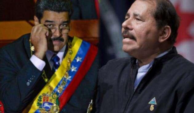 Nicolás Maduro y Daniel Ortega