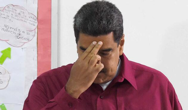 Nicolás Maduro mantiene una constante crisis diplomática con el gobierno de Colombia