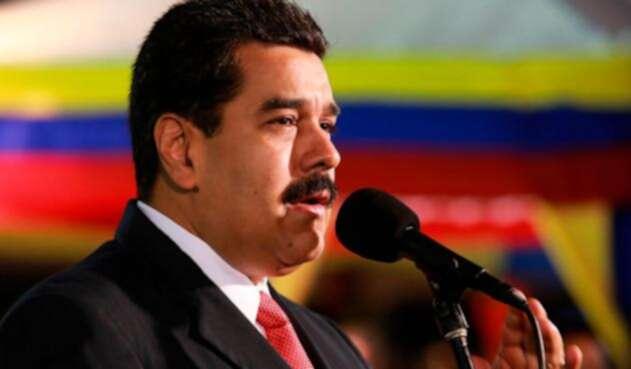 Nicolás Maduro, presidente de Venezuela, el 21 de septiembre de 2015 en Quito (Ecuador)