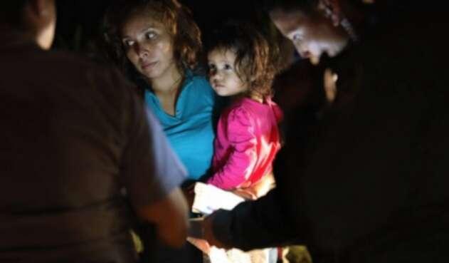 Niños inmigrantes separados de sus padres en EE.UU.