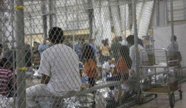Centros de reclusión para menores migrantes separados de sus padres en EE.UU.
