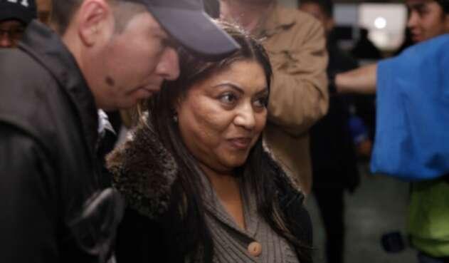 Oneida Pinto, exgobernadora de Guajira procesada por varios delitos.