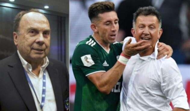Hernán Peláez elogio a Juan Carlos Osorio con México
