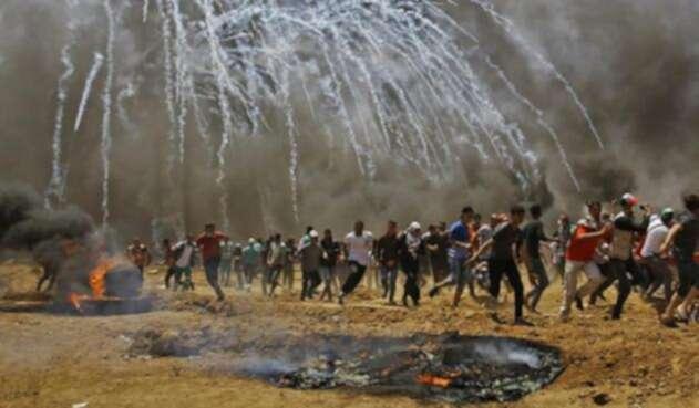 Franja de Gaza.