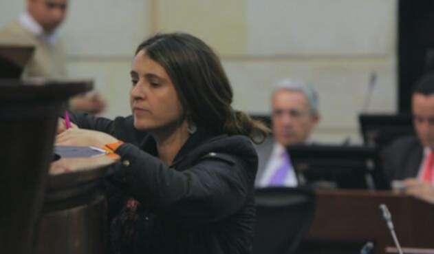 La senadora Paloma Valencia levantó polémica desde el pasado 20 de junio.