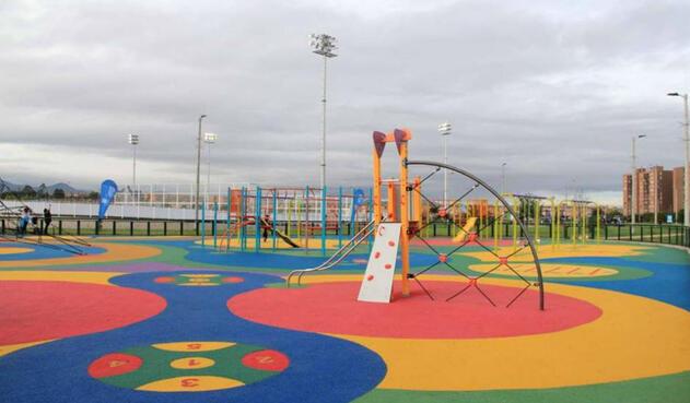 En Bogotá, los niños no hacen ejercicio pese a contar con espacios recreativos.