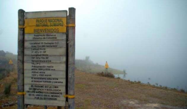 El Parque Nacional Natural Sumapaz, en la zona que corresponde a Cundinamarca