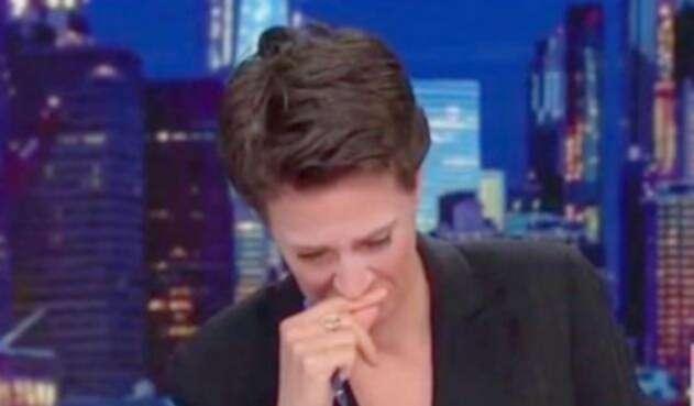 La periodista Rachel Maddow lloró por los niños separados de sus familias