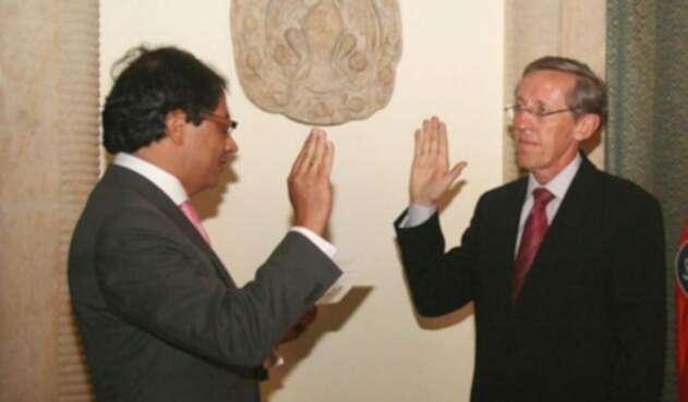 Gustavo Petro y Antonio Navarro Wolff
