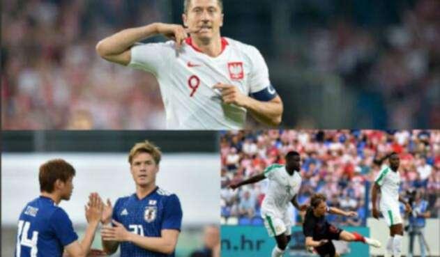 Rivales de Colombia en el Mundial