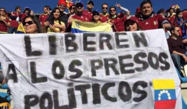 Presos políticos Venezuela.