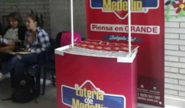 Puesto de la Lotería de Medellín