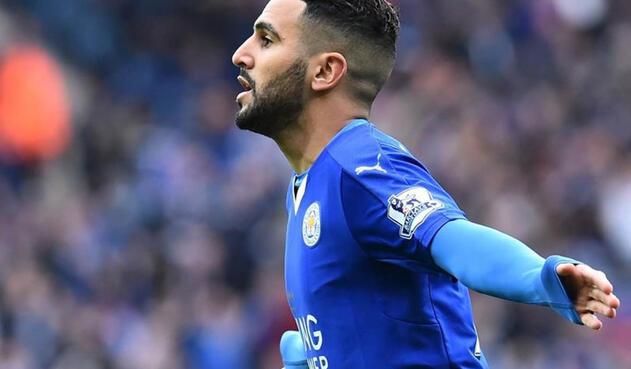 Riyad Mahrez, delantero argelino del Leicester City