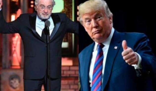 Robert De Niro y Donlad Trump