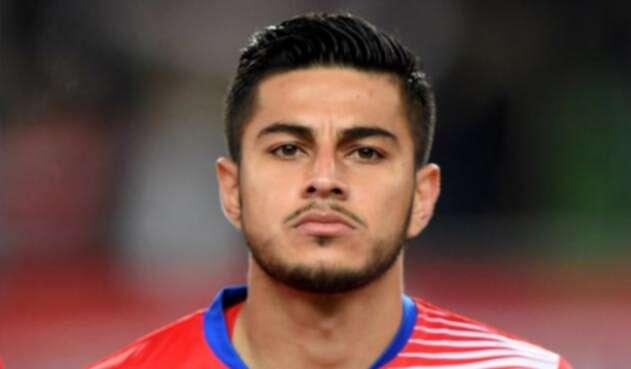 Ronald Matarrita, jugador de la Selección de Costa Rica
