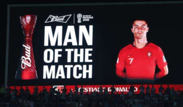Cristiano Ronaldo, delantero de la Selección de Portugal