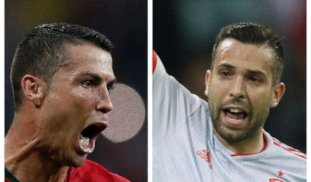 Ronaldo y Alba son figuras en Real Madrid y Barcelona