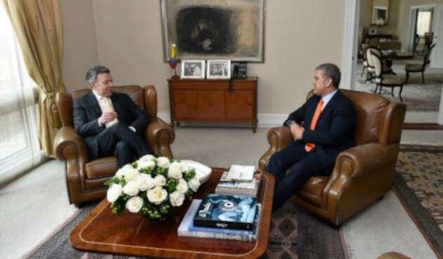 Santos le dejará la presidencia a Duque el 7 de Agosto