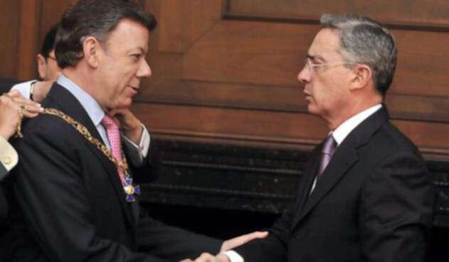 Los años de amistad de Santos y Uribe son cosa del pasado.