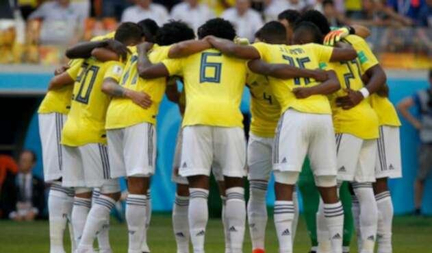 La Selección Colombia ante Japón