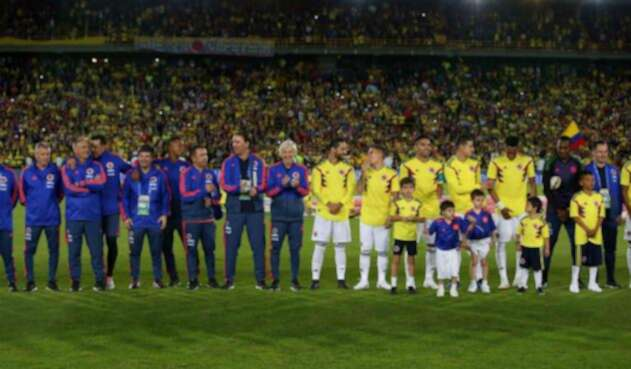 La Selección Colombia se despidió en Bogotá el 25 de mayo