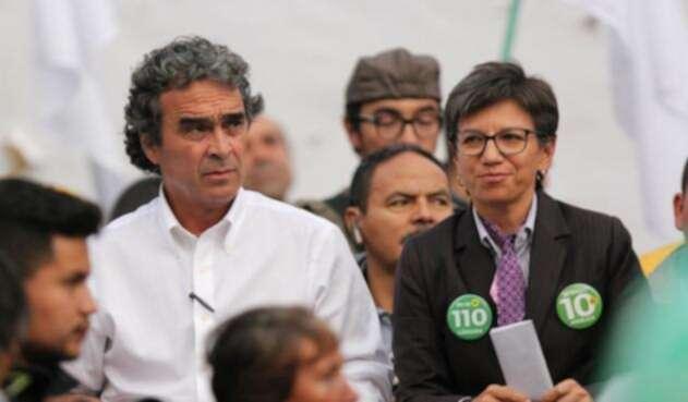 Sergio Fajardo y Claudia López, ex aspirantes a la Presidencia de Colombia