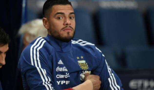 Portero argentino Sergio Romero.