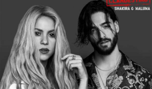 Shakira y Maluma en Clandestino