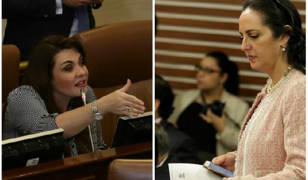 Margarita Restrepo, representante a la Cámara y María Fernanda Cabal, congresista del Centro Democrático