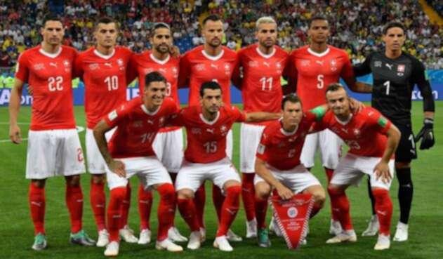 Suiza empató 1-1 ante Brasil en la Copa del Mundo Rusia 2018