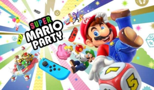 Super Mario Party, otra de las novedades de Nintendo