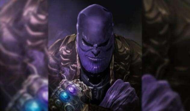 Thanos villano Avengers
