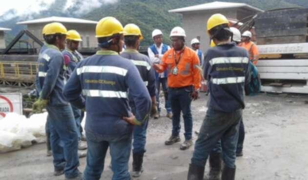Trabajadores en Campo