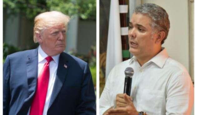 La lucha contra el narcotráfico será uno de los principales temas de encuentro entre Trump y Duque