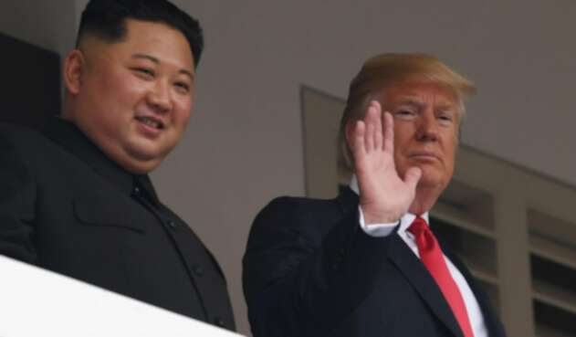 Trump y Kim Jong Un