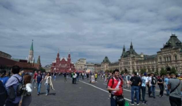 La imponente Plaza Roja de Moscú.