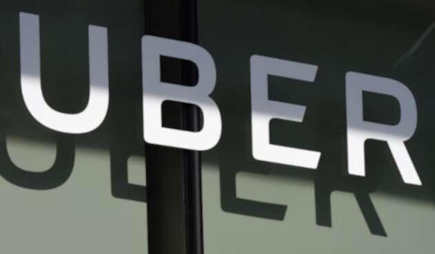 Imagen de la empresa Uber en su fachada de Los Ángeles