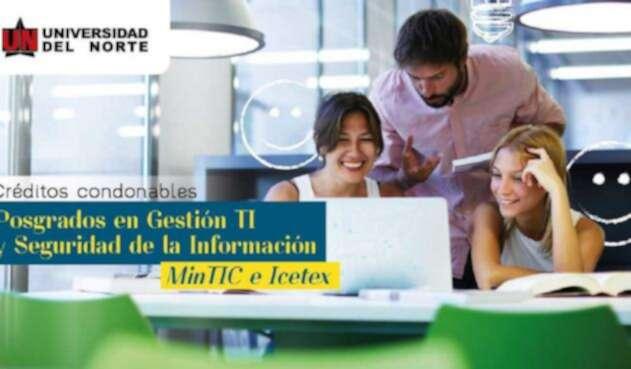 Créditos de posgrado MinTIC, Icetex y UniNorte