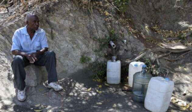 Los venezolanos sufren por la falta de agua