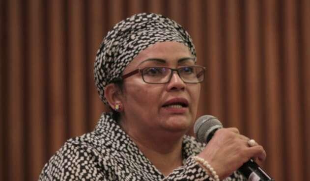 Victoria Sandino, parte del partido político de las Farc