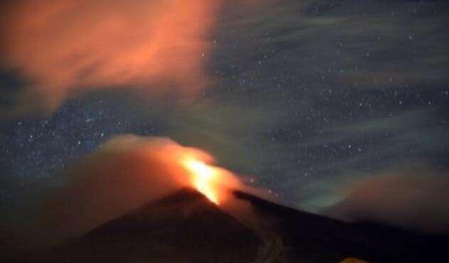 Volcán de guatemala
