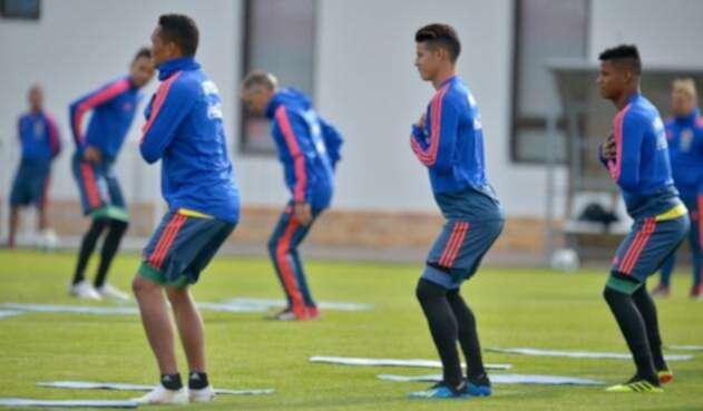 Selección Colombia en Kazán