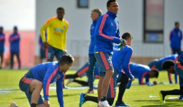 Entrenamiento Selección Colombia