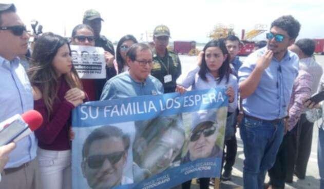 Familiares de periodistas ecuatorianos asesinados están en Cali 10